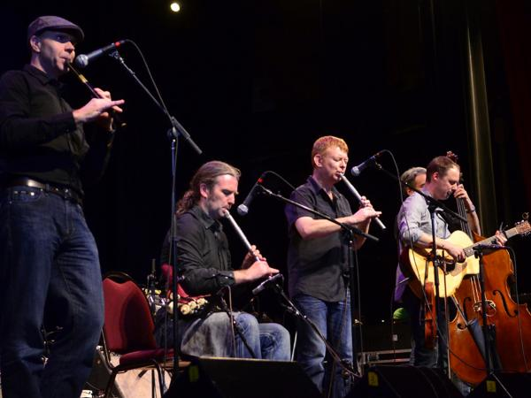 Lunasa performs on <em>Mountain Stage</em> at the Paramount Theater in Bristol, Tenn./Va.