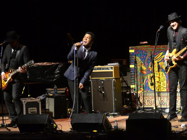 Vintage Trouble makes its first appearance on <em>Mountain Stage</em>, recorded live on the campus of West Virginia University in Morgantown.