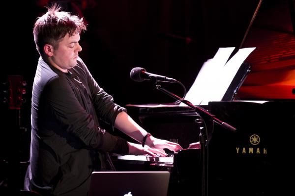 "Muhly opened the show with <em>A Hudson Cycle</em> (for solo piano) which he composed as a wedding gift for friends and describes as, ""music of longing and anticipation."""