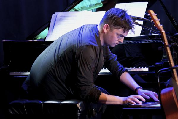 For his piece <em>Skip Town</em>, Muhly processed the piano, giving it a kind of ramshackle feel — half way between a harpsichord and a honky-tonk piano.