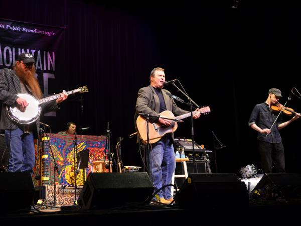 Overmountain Men makes its first appearance on <em>Mountain Stage</em>, recorded live at the Culture Center Theater in Charleston, W.Va.