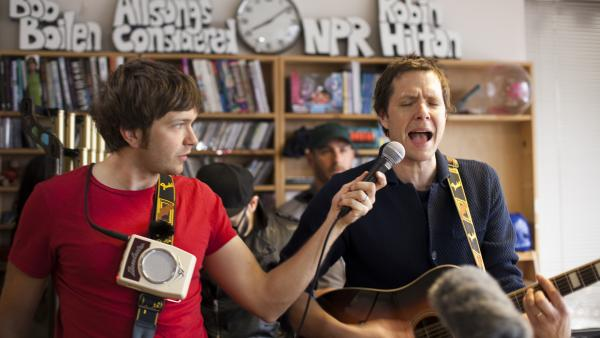 OK Go performs a special Tiny Desk Concert.