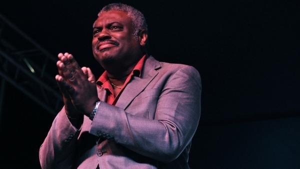 Mulgrew Miller at the Detroit Jazz Festival.