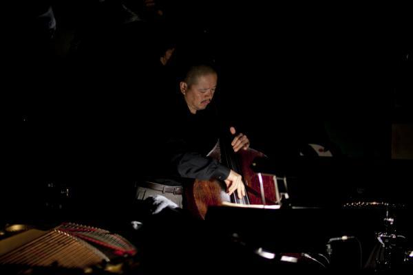 Kiyoshi Kitagawa at soundcheck.