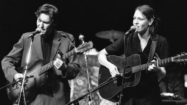David Rawlings and Gillian Welch perform on <em>Mountain Stage</em>.