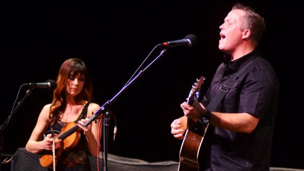 Amanda Shires and Jason Isbell perform on Mountain Stage.