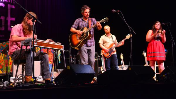 The Black Lillies perform on <em>Mountain Stage</em>.