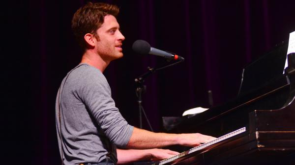 Brendan James performs live on <em>Mountain Stage</em>.
