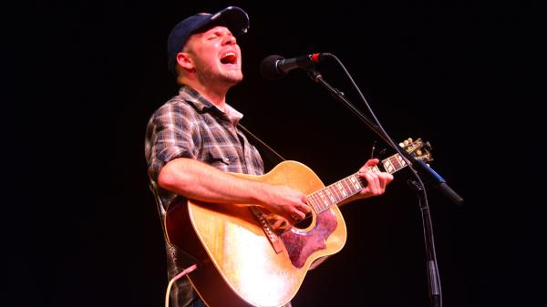 Mark Bates performs live on <em>Mountain Stage</em>.