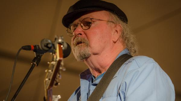 Tom Paxton performing live on <em>Mountain Stage</em>.