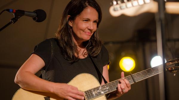 Lori McKenna performs live on <em>Mountain Stage</em>.