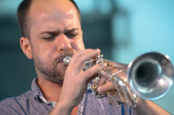 """I feel as though there's almost two streams going through my veins, two bloodstreams,"" says trumpeter and composer Amir ElSaffar, leader of Two Rivers. ""A lot of my life has been about reconciling the two."""