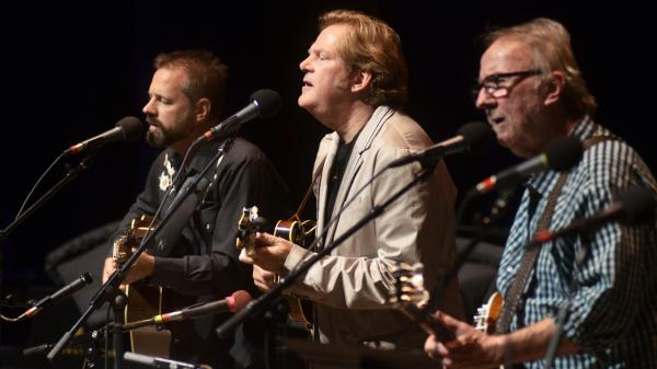 The John Jorgenson Bluegrass Band performing live on <em>Mountain Stage</em>.