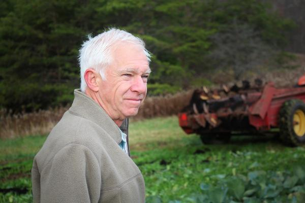 Crawford has been farming organically in south-central Pennsylvania for 40 years.