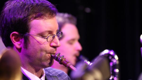 Patrick Cornelius performs at Berklee College of Music's Café 939 in Boston.