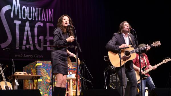 Sarah Lee Guthrie and Johnny Irion.