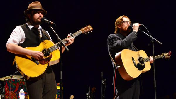 The Lost Brothers perform on Mountain Stage in fall 2012.