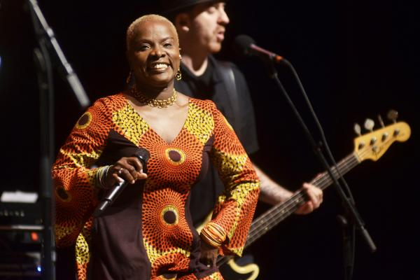Angélique Kidjo has been described as musical royalty.