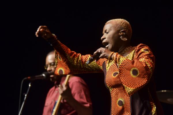 "Kidjo describes her latest album, <em>Eve</em>, as ""a remembrance of the African women I grew up with, and a testament to the pride and strength that hide behind the smile that masks everyday troubles."""
