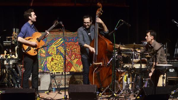 The Julian Lage Trio.