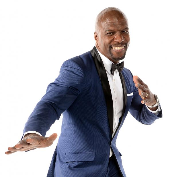Terry Crews is a former NFL linebacker and now an actor. <em>Manhood: How to Be a Better Man — or Just Live with One</em> is his first book.