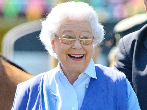Queen Elizabeth II attends the Royal Windsor Horse Show at Home Park on May 16.