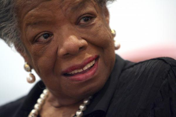 American poet and novelist Maya Angelou, pictured here in New York on March 4, 2008, died on May 28, 2014. She was 86. (Mary Altaffer/AP)