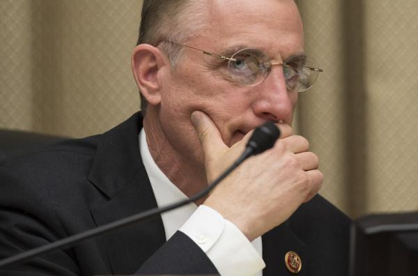 Republican Congressman Tim Murphy, pictured here on April 1, 2014, says that privacy laws should serve to protect the mentally ill, not prevent them from being treated properly. (Jim Watson/AFP/Getty Images)