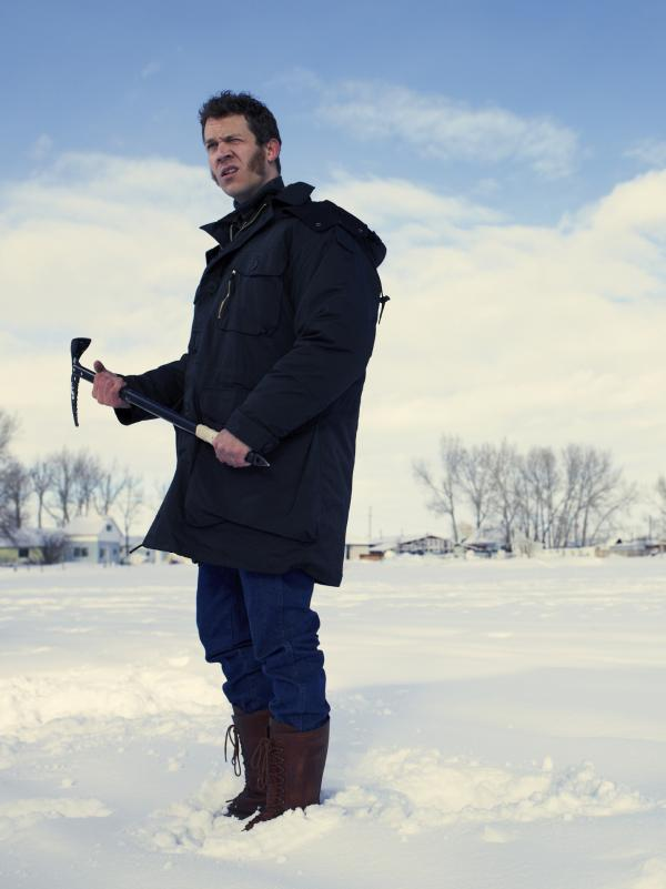 """""""The character is not really specific about being deaf, or having any related deaf issues,"""" Russell Harvard says. """"It's just <em>Fargo</em>, period."""""""