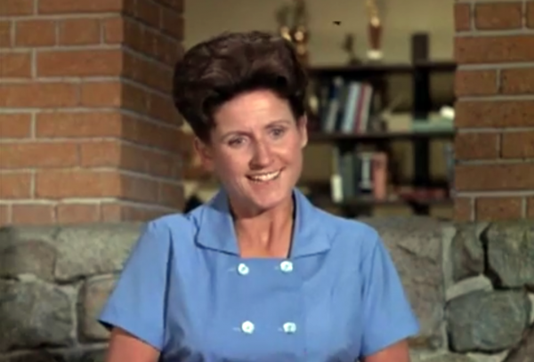 Ann B. Davis was best known for playing the part of Alice, the housekeeper on The Brady Bunch. (YouTube screenshot)