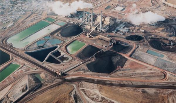 This image of the coal-fired plant in Colstrip, Mont., was made in the 1980s by Montana native David T. Hanson. It was part of an exhibit at Modern Museum of Art in New York.