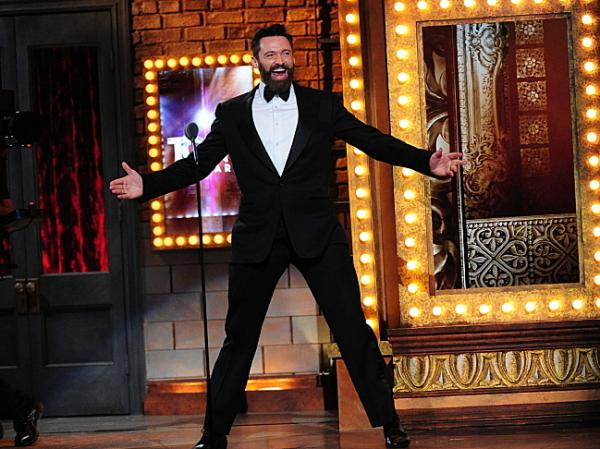 Hugh Jackman gave it all he had at Sunday night's Tony Awards.