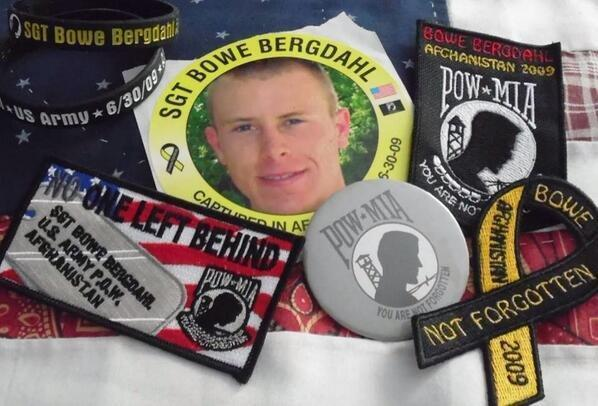 Groups across the country distributed stickers, patches, armbands and other items to get Bowe Bergdahl's name out during his captivity.