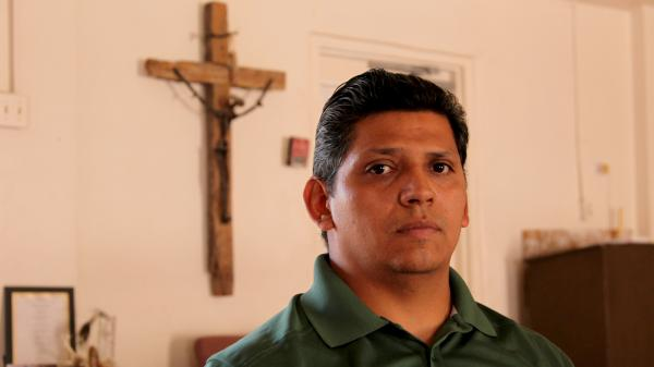 Daniel Neyoy Ruiz, 36, moved into a Tucson church with his family last month, claiming sanctuary as he sought a reversal in his deportation order.