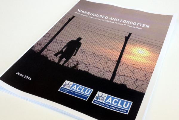 A report out June 10, 2014 by the ACLU and ACLU of Texas alleges undocumented immigrants live in abusive conditions at private prisons in Texas.
