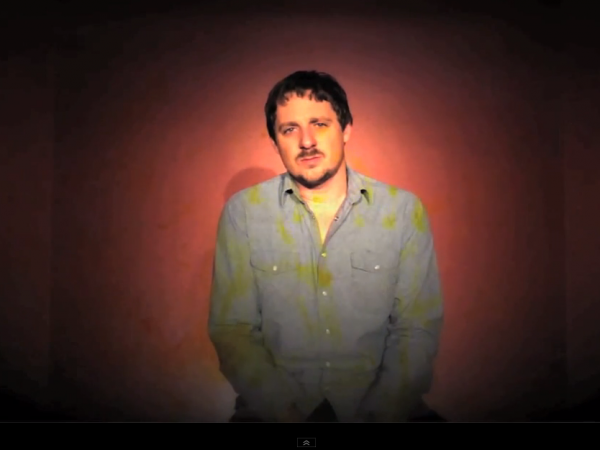 "Sturgill Simpson, in a scene from his video for the song ""The Promise."""