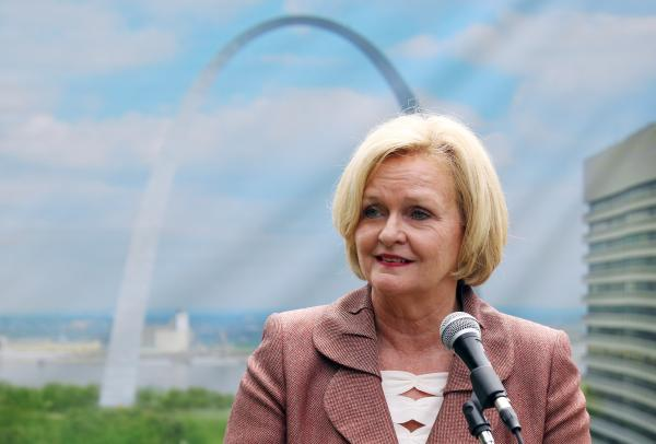 While she isn't thrilled about the proposal, U.S. Sen. Claire McCaskill says she will vote for the transportation tax.