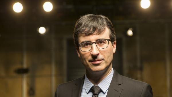 "John Oliver's new political satire <em>Last Week Tonight</em> airs on HBO. Oliver says the network gives him an almost ""confusing amount of freedom."""