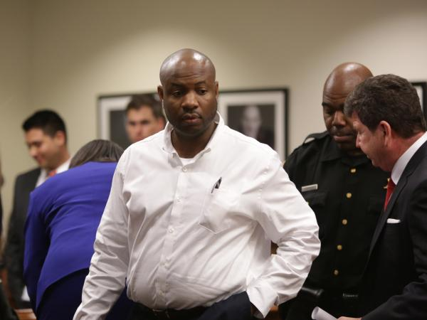 Truck driver Kevin Roper attends his first appearance at the Middlesex County Courthouse, last Wednesday. Roper pleaded not guilty in the fatal New Jersey Turnpike crash that seriously injured comedian Tracy Morgan.