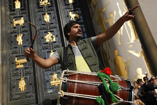 <em>Dhol </em>drummer and composer Sunny Jain wrote <em>100+ BPM </em>for this occasion, bringing in the signature sounds that fuel his band Red Baraat — a riotous mix of Punjabi <em>bhangra</em>, funk and jazz.