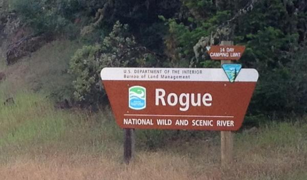 "The Rogue River was one of the first to receive ""Wild and Scenic"" designation in 1968."