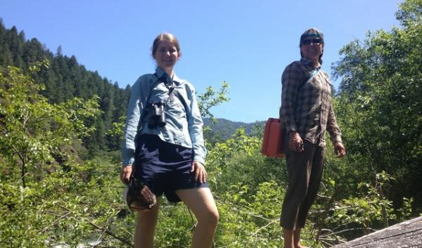 Morgan Lindsay of Klamath Siskiyou Wildlands (left) and Robyn Janssen of Rogue Riverkeeper are among those pushing for more wilderness in the region.