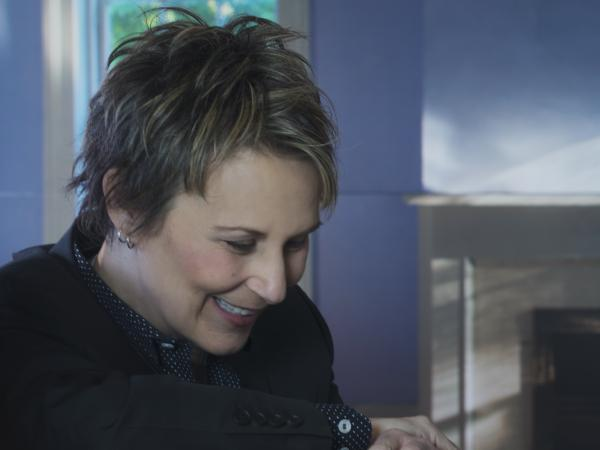 """Music and books, I think, were the two things I trusted the most as a child,"" Mary Gauthier says."
