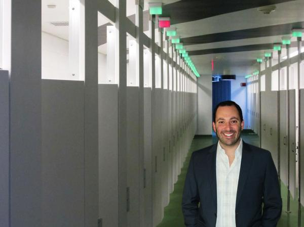 Allen Klevens is the co-founder of Tooshlights, a California-based company that wants to ease the wait for a bathroom stall.
