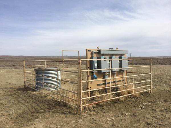 Linc Energy has installed 44 monitoring wells at its proposed test site near Wright, Wyo., to establish baseline water quality.