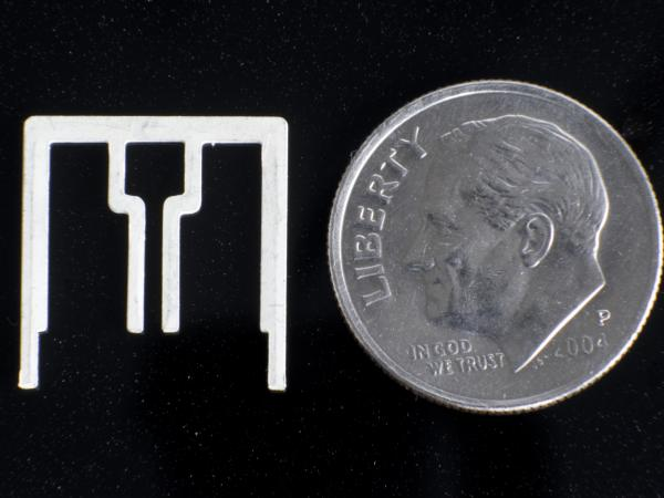 The Aereo antenna is about the size of a dime.