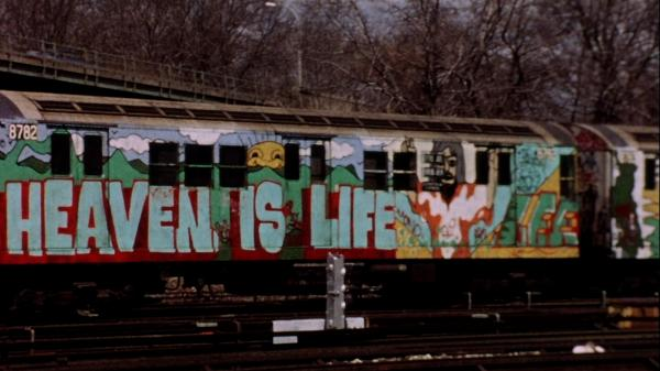 The 1981 film <em>Stations of the Elevated</em> follows<em> </em>graffiti-covered trains in New York City. The film is being reissued in New York this week and the rest of the country this fall.