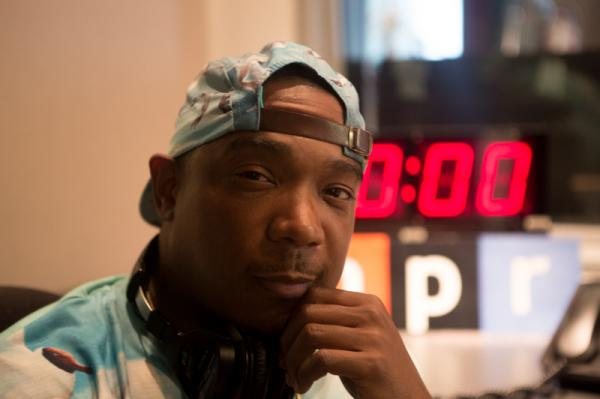 Ja Rule at NPR's New York bureau in June.