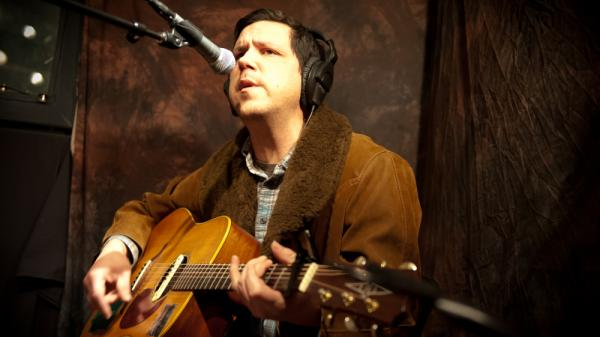 Damien Jurado performed songs from the album <em>Maraqopa</em> at KEXP in Seattle.