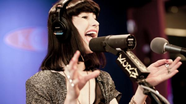 Kimbra performs on KCRW's<em> Morning Becomes Eclectic.</em>